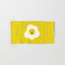 Eggs emoji Hand & Bath Towel