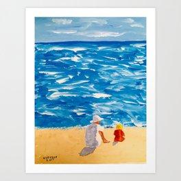 Beach Memories Art Print