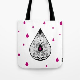 Drop Tote Bag