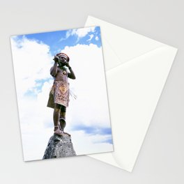 Papua New Guinea Man Stationery Cards