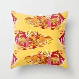Amarga Marsh Throw Pillow