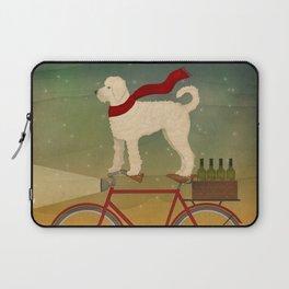 Doodle Bike Laptop Sleeve
