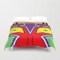 majora Duvet Covers featuring MAJORA by pipocaVFX
