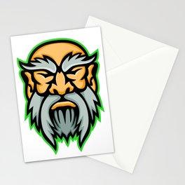 Cronus Greek God Mascot Stationery Cards