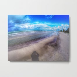 Sauble Beach GoPro Decor. Metal Print