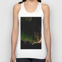 vermont Tank Tops featuring Vermont by LukeyD