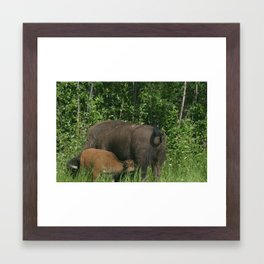 Oh baby thats to rough! Framed Art Print