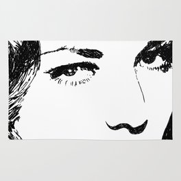Lauren Bacall Rug