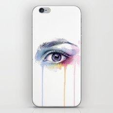 Colorful Eye Dripping Rainbow iPhone & iPod Skin