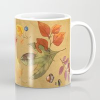turkey Mugs featuring Wild Turkey by Edith Jackson-Designs