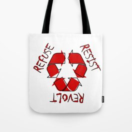 (Re) History in Reverse Tote Bag