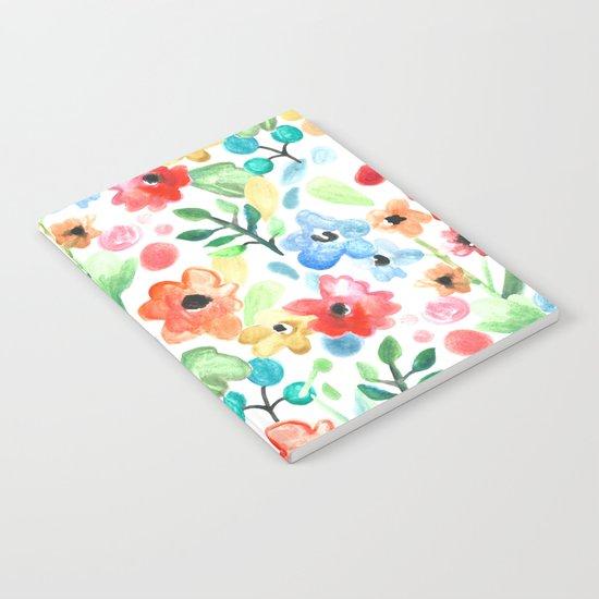 Flourish - Watercolor Floral Notebook