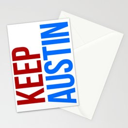 KEEP AUSTIN Stationery Cards