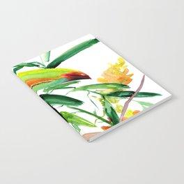 Toucan, Tropical Art, tropics Notebook