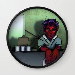 Demon Maid Wall Clock