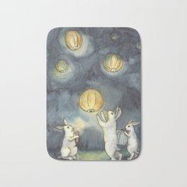 Sky Lanterns Bath Mat