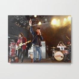 Arctic Monkeys in Williamsburg, New York Metal Print