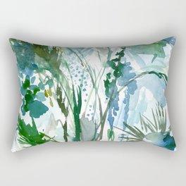 marelle: watercolor floral Rectangular Pillow