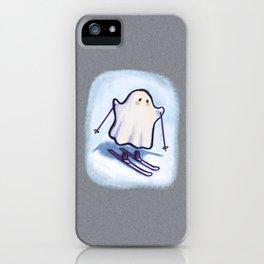 SKIING GHOSTIE iPhone Case