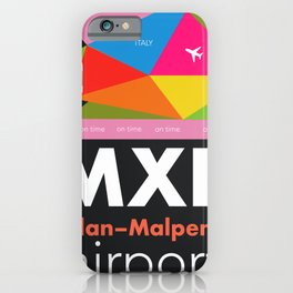 MXP Milan airport iPhone Case