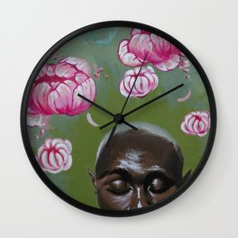 Here Comes a Thought Wall Clock