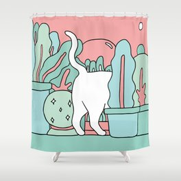Tuesday Plans Shower Curtain