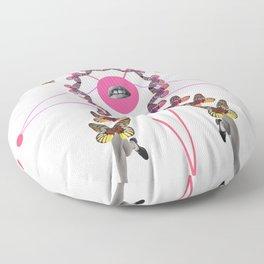 light step Floor Pillow