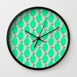 Livin on a pear Wall Clock