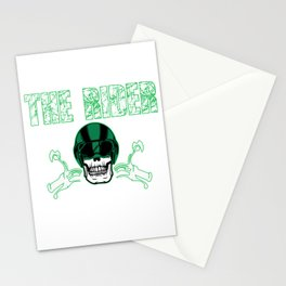 The Awesome & Cool Rider Tshirt The Rider Stationery Cards