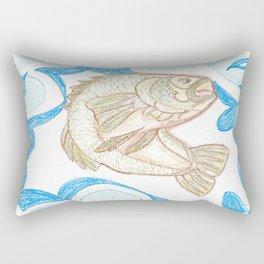 Bass Rectangular Pillow