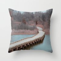 michigan Throw Pillows featuring Michigan by Ziggy Photography