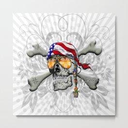 American Pirate Metal Print