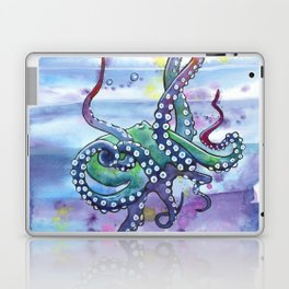 Bath Time Octopus Laptop & iPad Skin