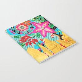 Gold Dipped Boho Serape Dream Notebook