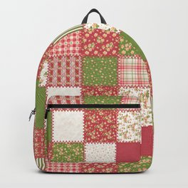 Festive Patchwork Backpack