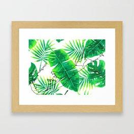 Palm Tree Living Framed Art Print