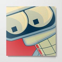 Bender Boss Metal Print
