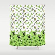 Lia 4 Shower Curtain
