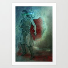 Thor & Loki - dream brother Art Print