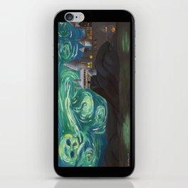 Starry Night at Hogwarts iPhone Skin