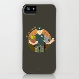 Zookeeper iPhone Case