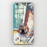 bed iPhone & iPod Skins featuring Bed. by Lucy Roslyn