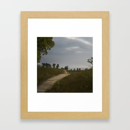 Another Path Framed Art Print