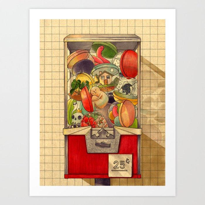 25¢ Kunstdrucke