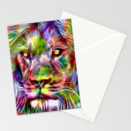 Lion in Color Stationery Cards