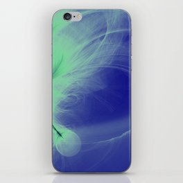 Blue Iris iPhone Skin