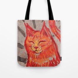Tangerine Bowie Tote Bag
