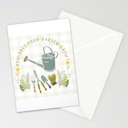 How Does Your Garden Grow? Stationery Cards
