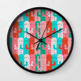 Cacti arrangement Wall Clock