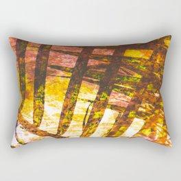 Palm Tiger Rectangular Pillow